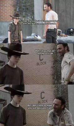 BAZINGA!  Ranger Rick will be here all week.