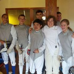 Happy 9th Birthday All-American Fencing Academy!  Post your experience/story about your time with AAFA with the hashtag #aafabirthday  They've grown up since then! College military and senior year in high school!  We'll keep posting some throwback photos throughout the day.  #tryfencing #wedareyounottoloveit #weallplayswords #wedareyounottoloveit #hopetoseeyoufor10yearreunion
