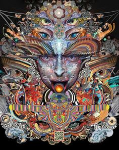 42 Modern Psychedelic Visionary Artists You Need To Know  #PsychedelicArt