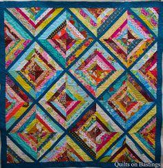 Tina's String Quilt by QOB, via Flickr