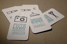 Business Card for: Piotr Kierat | The Best of Business Card Design