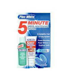 No. 1: Plus White 5 Minute Speed Whitening System, $10.99, 2 Best Teeth Whiteners -- and the 4 Worst