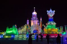 The Harbin Snow & Ice Festival - China