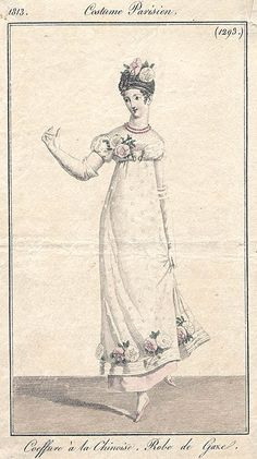 1813 Coiffure Chinesoise, Robe de Gare?