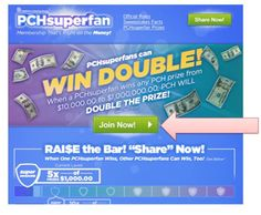 pchsuperfan page - Learn more about PCH SuperFan Program
