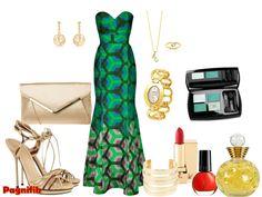 Idée de look Pagnifik - Robe verte Sika Designs | Pagnifik