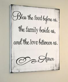 Canvas Blessing 16x20 {customizable}
