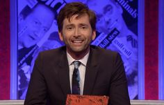 UK PREMIERE: David Tennant Returns To Have I Got News For You On 6th May