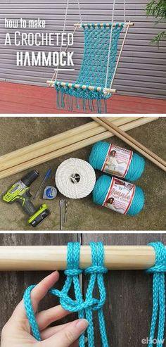 hacer sofa con madera y tejiendo tela