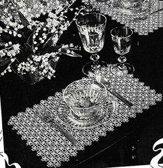 Luncheon Set Pattern #2213