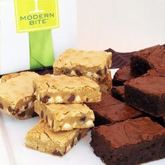 Brownies and Blondies, from Modern Bite.