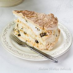 Tort bezowy dacquoise #meringue