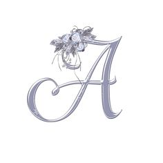 """Photo from album """"Winter Magic on Yandex. Alphabet Letters Design, Fancy Letters, Floral Letters, Letter Art, Tattoo Lettering Fonts, Lettering Design, Typography, Love Wallpaper, Wallpaper Iphone Cute"""