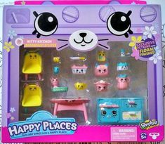 SHOPKINS HAPPY PLACES KITTY KITCHEN BREAKFAST DELIGHTS