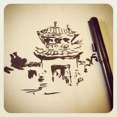 Pentel Pocket Brush: http://www.pentel.com/store/pentel-pocket-brush-pen #doodles #pentel | Flickr - Photo Sharing!