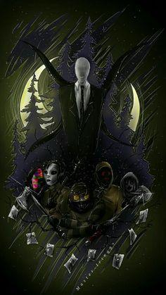 Jeff The Killer, Creepypasta Wallpaper, Creepypasta Slenderman, Slenderman Proxy, Creepy Pasta Family, Creepy Monster, Creepy Art, Dark Fantasy Art, Animes Wallpapers