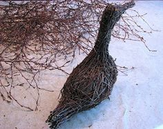 Suvikumpu: Risulintu Willow Garden, Sculpture, Garden Ornaments, Pet Birds, Wood Art, Deco, Christmas Diy, Diy And Crafts, Nature