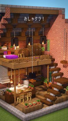 Cute Minecraft Houses, Minecraft Farm, Minecraft Plans, Amazing Minecraft, Minecraft Houses Blueprints, Minecraft Construction, Minecraft House Designs, Minecraft Tutorial, Minecraft Crafts