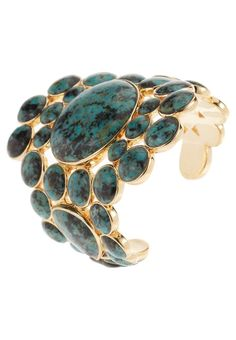 Isharya - Turquoise Cuff | More bling here: http://mylusciouslife.com/photo-galleries/bling-fling/