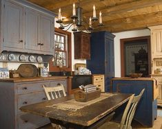 Primitive Country Kitchens | Visit Pinterest Com