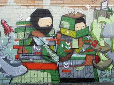 New Mural in Northbridge.