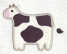 Machine Embroidery Designs at Embroidery Library! - Heart & Home (Applique)