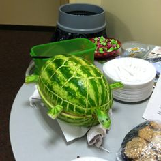 Watermelon turtle / craft fail :)