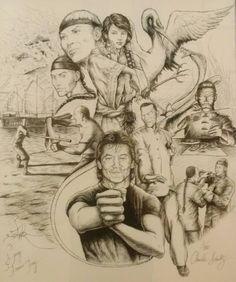 ~Sifu Francis Fong Wing Chun Gung Fu~ (Art by: C.E.Schultz)