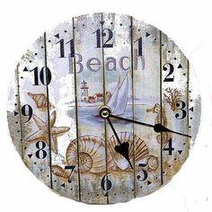 Orologio da parete SM5, 39 cm di diametro, motivo: nautico/marino EURO 15,22