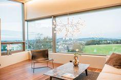 Singelfamily house  Built: 2016 Architect: Marita Hamre Floor: Walnut Andante, Boen flooring Windows: Schüco Furniture: Kielland AS