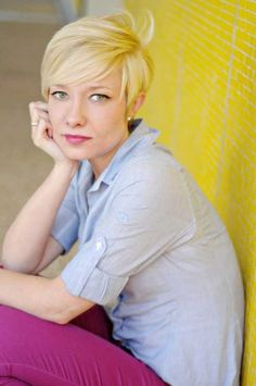 Short Blonde Hairstyles for Women | 2013 Short Haircut for Women