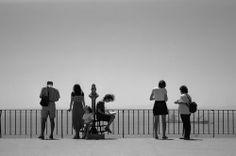 Wich Mood? by Paulo Mota - People Street & Candids ( 35mm, lisbon, people, city, black&white )