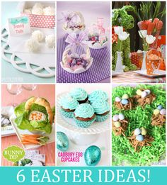6 Easter Treats & Ideas from Pizzazzerie!