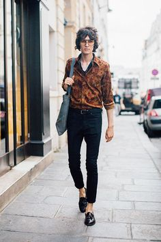 Street looks homme à Paris #richfashion #unique #style #streetstyle #hairstyle #love #ootd