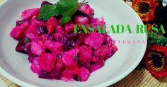 Ensalada Rusa Vegana, para dar energía y aliviar el cansancio. - My Veggie Market.
