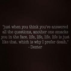 Dexter Season 7 Quotes About Love : 1000+ images about Dexter on Pinterest Dexter quotes, Dexter morgan ...
