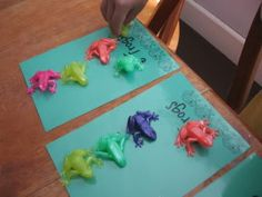Math frogs; I can even take this further with other concepts - and I already have the frogs!