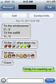 Using emoticons the right way…