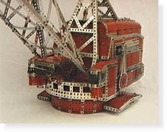 Welcome to Wes Dalefield's Meccano Page Pedal Cars, Retro Toys, Antique Toys, Old Toys, Lego, Antiques, Crane, Puzzles, Projects