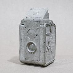 Vintage Camera Concrete Replica Décor  Kodak by Reconsiderit
