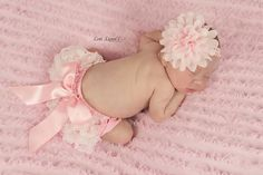 Hey, I found this really awesome Etsy listing at https://www.etsy.com/listing/399859313/newborn-bloomer-set-pink-ruffled-lace