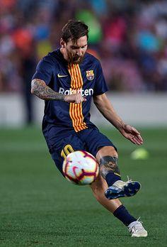 Lionel Messi of Barcelona in action during the La Liga match between. Fc Barcelona, Lionel Messi Barcelona, Barcelona Soccer, Neymar Football, Messi Soccer, Best Football Players, Football Is Life, Camp Nou, Lional Messi