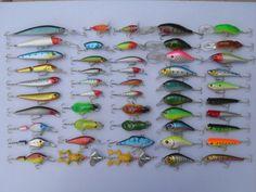 señuelos curricanes de pesca caña y carrete. muchos modelos