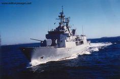 New Zealand Navy - ANZAC class frigate HMNZS Te Kaha.