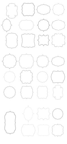 Free borders and bracket frames to download | Pure Sweet Joy