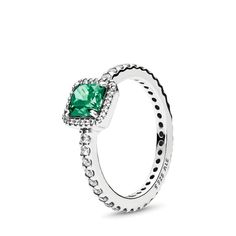 Pandora Ring Green Stone,Small Dainty Promise Rings,Timeless Elegance, Green & C… – Jewelry And Accessories Diy Rings, Unique Rings, Pandora Bracelets, Pandora Jewelry, Jewelry Bracelets, Necklaces, Handmade Beaded Jewelry, Beaded Rings, Bracelet Making