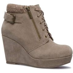 Cute Shoes Boots, Cute Ankle Boots, Buckle Ankle Boots, Ankle Booties, Wedge Heel Boots, Wedge Shoes, Bootie Boots, Wedge Bootie, Teen Boots