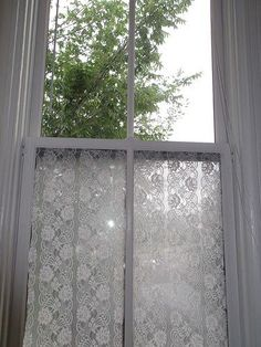 """Okay, so calling this window treatment idea """"free"""" isn't exactly true: if you don't have the few required items already at home, you'll have..."""