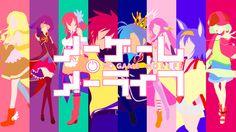 No Game No Life - Minimalistic Characters by gerjlara