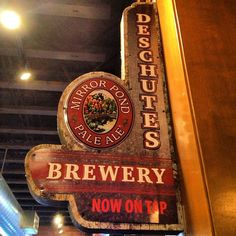 Deschutes Brewery & Public House in Bend, OR (outside Portland, OR) overlooks the wild and scenic Deschutes River. The brewery boasts an adventurous, award-winning lineup of pioneering beers.